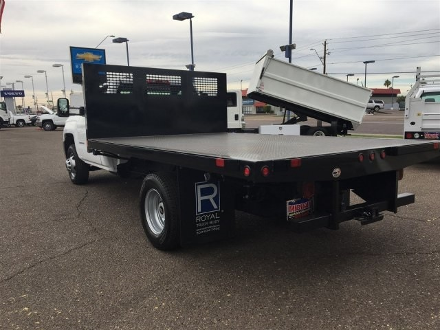 2017 Silverado 3500 Regular Cab DRW, CM Truck Beds PL Model Platform Body #HF215333 - photo 2