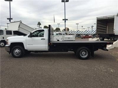 2017 Silverado 3500 Regular Cab DRW, CM Truck Beds PL Model Platform Body #HF215333 - photo 7