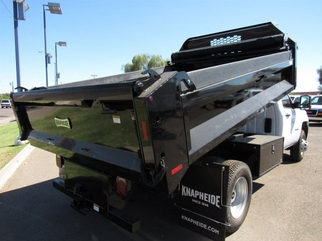 2017 Silverado 3500 Regular Cab DRW, Knapheide Drop Side Dump Bodies Dump Body #HF220578 - photo 4