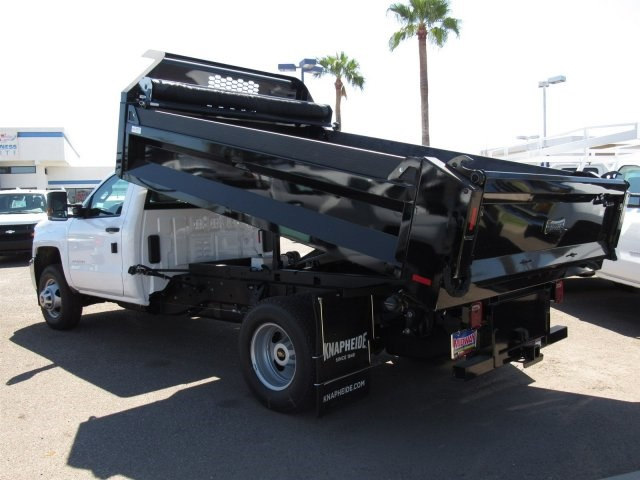 2017 Silverado 3500 Regular Cab DRW, Knapheide Drop Side Dump Bodies Dump Body #HF220578 - photo 2