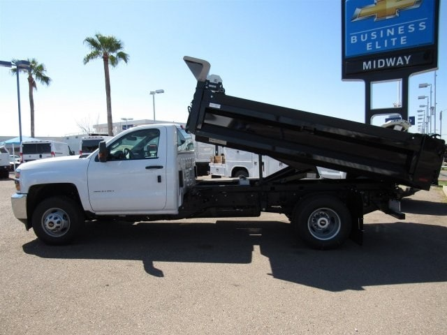 2017 Silverado 3500 Regular Cab DRW, Knapheide Drop Side Dump Bodies Dump Body #HF220578 - photo 5