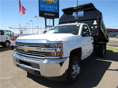 2017 Silverado 3500 Regular Cab DRW, Knapheide Drop Side Dump Bodies Dump Body #HF220578 - photo 1