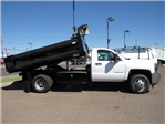2017 Silverado 3500 Regular Cab DRW, Knapheide Drop Side Dump Bodies Dump Body #HF220578 - photo 3
