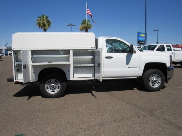 2017 Silverado 2500 Regular Cab,  Knapheide KUVcc Service Utility Van #HZ251361 - photo 3