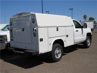 2017 Silverado 2500 Regular Cab,  Knapheide KUVcc Service Utility Van #HZ251361 - photo 4