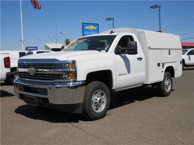2017 Silverado 2500 Regular Cab,  Knapheide KUVcc Service Utility Van #HZ251361 - photo 1