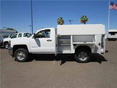 2017 Silverado 2500 Regular Cab,  Knapheide KUVcc Service Utility Van #HZ251361 - photo 6