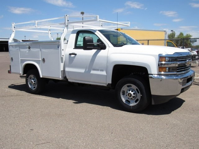 2017 Silverado 2500 Regular Cab, Royal Service Body #HZ273057 - photo 3
