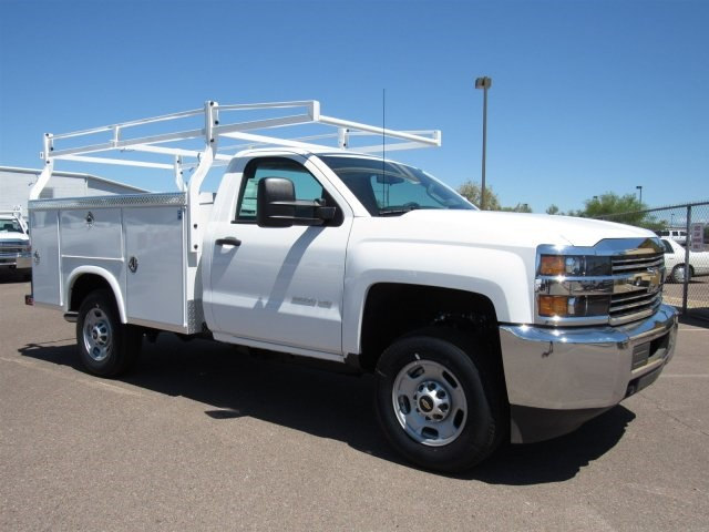 2017 Silverado 2500 Regular Cab, Royal Service Body #HZ276540 - photo 3