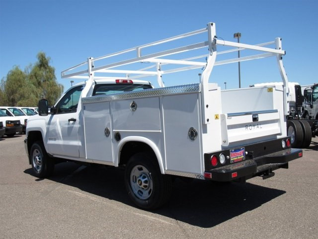 2017 Silverado 2500 Regular Cab, Royal Service Body #HZ276540 - photo 2