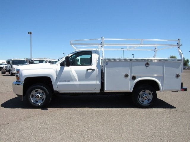 2017 Silverado 2500 Regular Cab, Royal Service Body #HZ276540 - photo 6