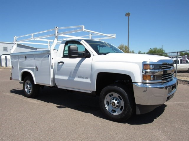 2017 Silverado 2500 Regular Cab, Royal Service Body #HZ276962 - photo 3