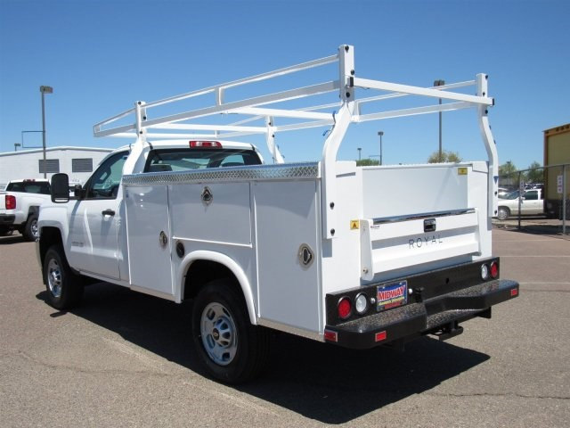 2017 Silverado 2500 Regular Cab, Royal Service Body #HZ276962 - photo 2