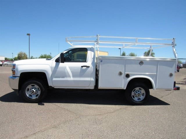 2017 Silverado 2500 Regular Cab, Royal Service Body #HZ276962 - photo 6
