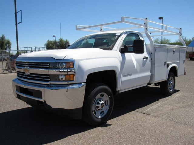 2017 Silverado 2500 Regular Cab, Royal Service Bodies Service Body #HZ278236 - photo 1