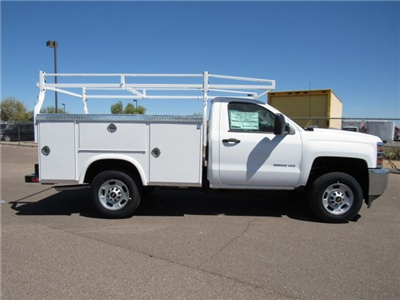 2017 Silverado 2500 Regular Cab, Royal Service Bodies Service Body #HZ278236 - photo 3