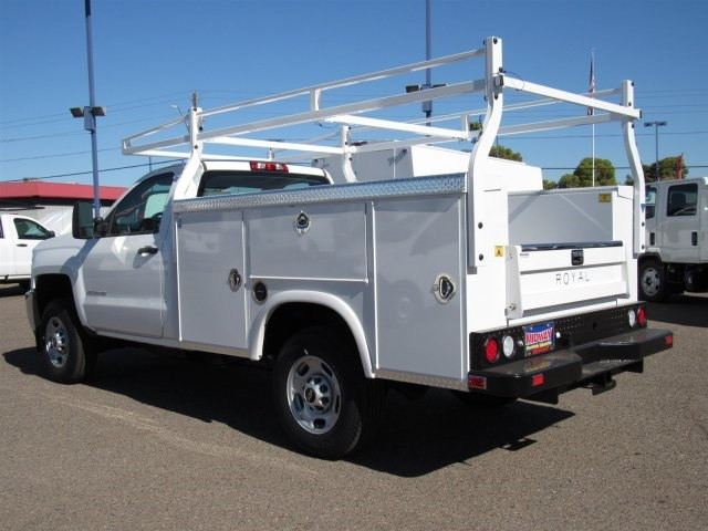 2017 Silverado 2500 Regular Cab, Royal Service Body #HZ279082 - photo 2