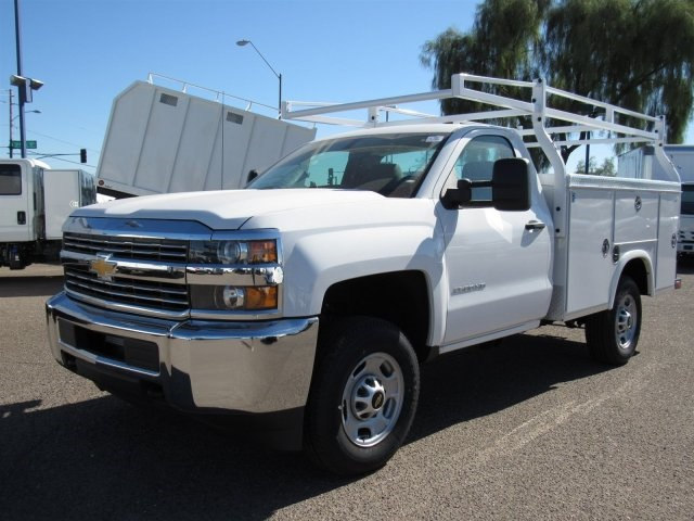 2017 Silverado 2500 Regular Cab, Royal Service Bodies Service Body #HZ279082 - photo 1