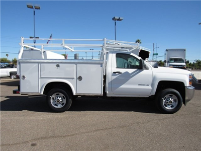 2017 Silverado 2500 Regular Cab, Royal Service Bodies Service Body #HZ279082 - photo 3