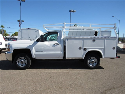 2017 Silverado 2500 Regular Cab, Royal Service Bodies Service Body #HZ279082 - photo 5