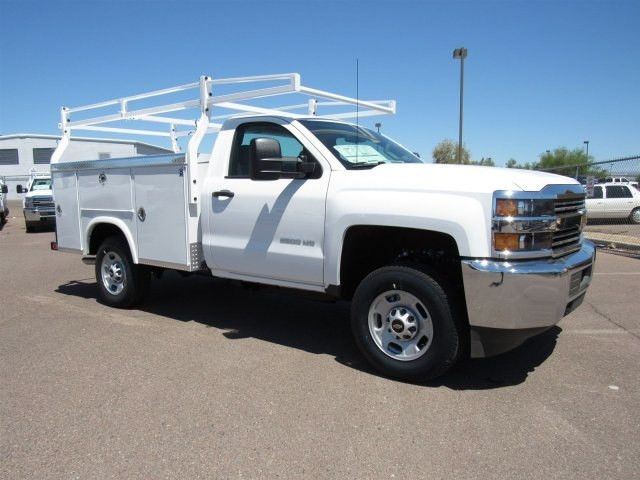 2017 Silverado 2500 Regular Cab, Royal Service Body #HZ279517 - photo 3