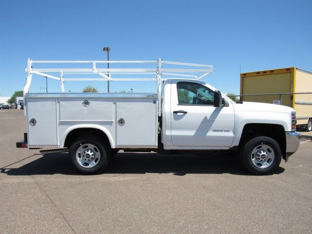 2017 Silverado 2500 Regular Cab, Royal Service Body #HZ279517 - photo 4