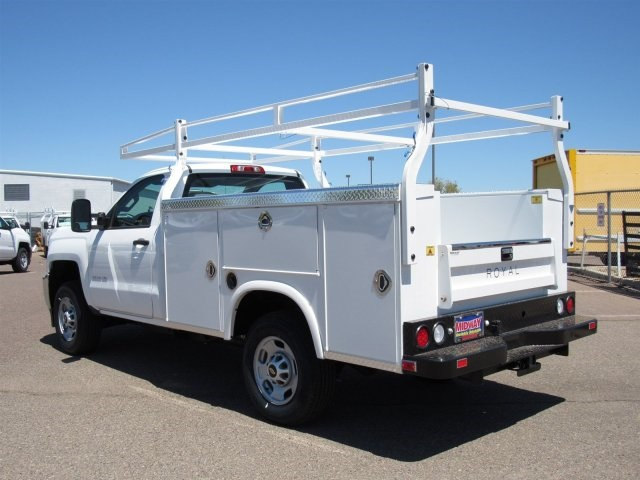 2017 Silverado 2500 Regular Cab, Royal Service Body #HZ279517 - photo 2