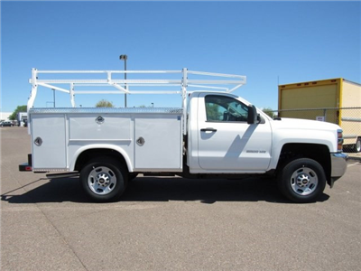 2017 Silverado 2500 Regular Cab, Royal Service Bodies Service Body #HZ279517 - photo 4
