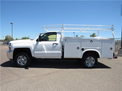 2017 Silverado 2500 Regular Cab, Royal Service Bodies Service Body #HZ279517 - photo 6