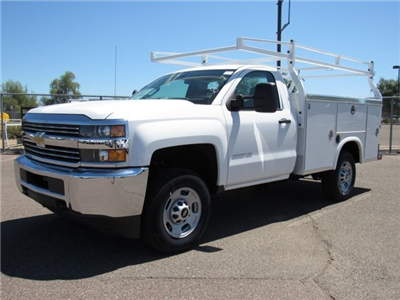 2017 Silverado 2500 Regular Cab, Royal Service Bodies Service Body #HZ279517 - photo 1