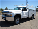 2017 Silverado 2500 Regular Cab, Royal Service Body #HZ279517 - photo 1