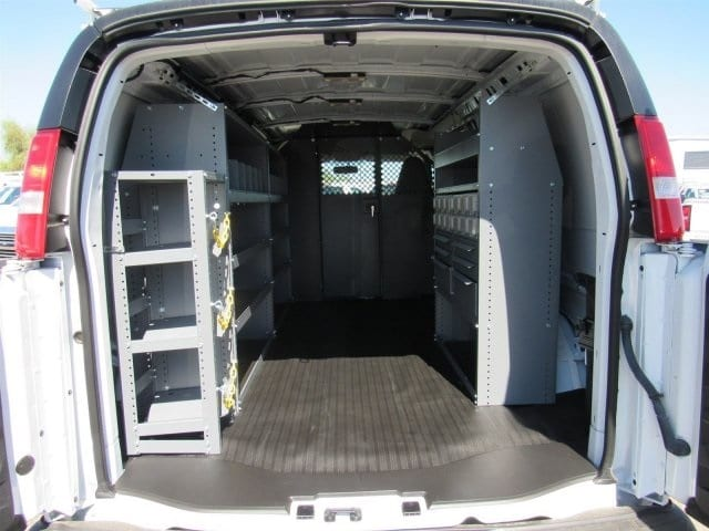 2018 Express 2500 4x2,  Masterack Upfitted Cargo Van #J1191387 - photo 2