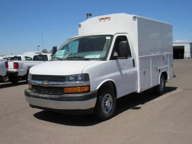 2018 Express 3500 4x2,  Service Utility Van #J1309507 - photo 1