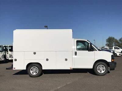 2018 Express 3500 4x2,  Harbor WorkMaster Service Utility Van #J1311169 - photo 3