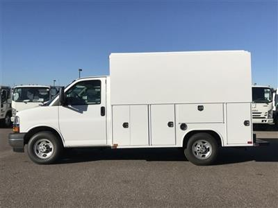 2018 Express 3500 4x2,  Harbor WorkMaster Service Utility Van #J1311169 - photo 8