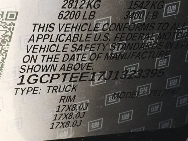 2018 Colorado Crew Cab 4x4,  Pickup #J1323395 - photo 16