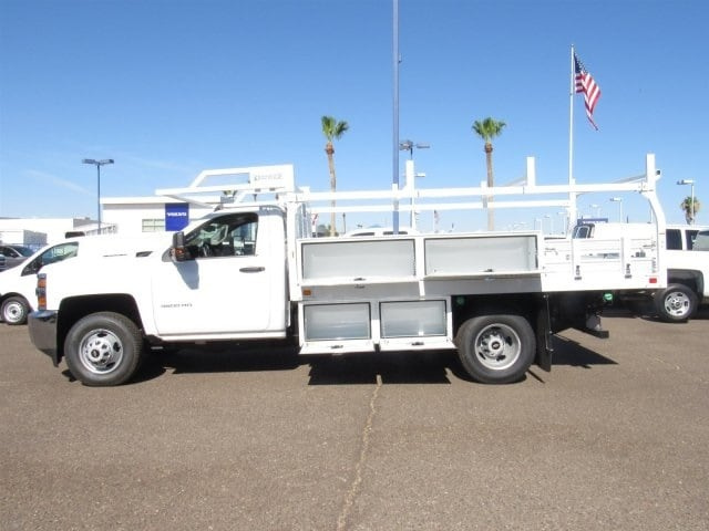 2018 Silverado 3500 Regular Cab DRW 4x2,  Knapheide Contractor Bodies Contractor Body #JF133639 - photo 6