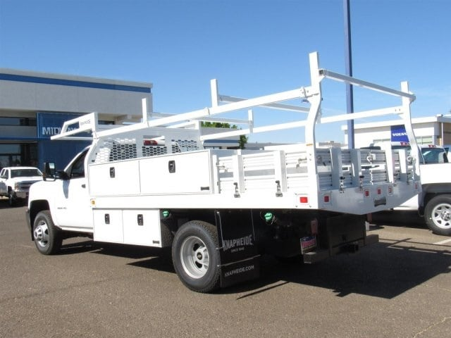 2018 Silverado 3500 Regular Cab DRW 4x2,  Knapheide Contractor Body #JF133639 - photo 2