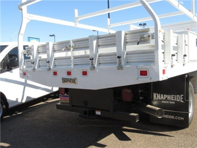2018 Silverado 3500 Regular Cab DRW 4x2,  Knapheide Contractor Bodies Contractor Body #JF133639 - photo 5