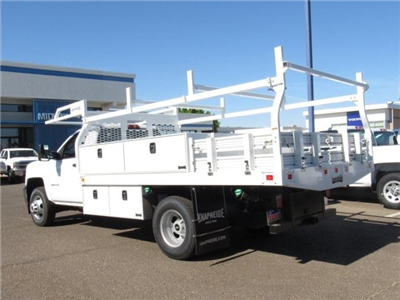 2018 Silverado 3500 Regular Cab DRW 4x2,  Knapheide Contractor Bodies Contractor Body #JF133639 - photo 2