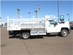 2018 Silverado 3500 Regular Cab DRW 4x2,  Knapheide Contractor Bodies Contractor Body #JF133639 - photo 3