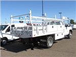 2018 Silverado 3500 Regular Cab DRW 4x2,  Knapheide Contractor Body #JF133639 - photo 4