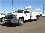 2018 Silverado 3500 Regular Cab DRW 4x2,  Knapheide Contractor Bodies Contractor Body #JF133639 - photo 1