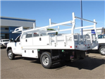 2018 Silverado 3500 Regular Cab DRW 4x2,  Knapheide Contractor Body #JF133639 - photo 1