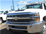 2018 Silverado 3500 Regular Cab DRW 4x2,  Knapheide Contractor Bodies Contractor Body #JF133639 - photo 8