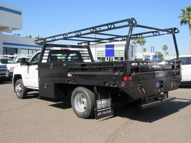 2018 Silverado 3500 Regular Cab DRW 4x2,  Monroe Pro Contractor Contractor Body #JF160496 - photo 2