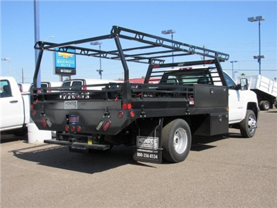 2018 Silverado 3500 Regular Cab DRW 4x2,  Monroe Pro Contractor Contractor Body #JF160496 - photo 3