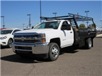 2018 Silverado 3500 Regular Cab DRW 4x2,  Monroe Pro Contractor Contractor Body #JF160496 - photo 1