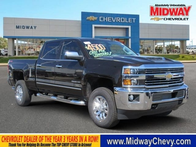 2018 Silverado 2500 Crew Cab 4x4,  Pickup #JF197086 - photo 13