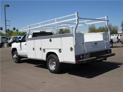2018 Silverado 3500 Regular Cab DRW 4x2,  Royal Service Body #JF208189 - photo 2